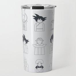 Rice + vegetables Travel Mug