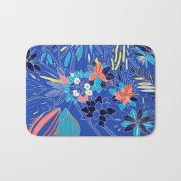 Floating Flowers Bath Mat
