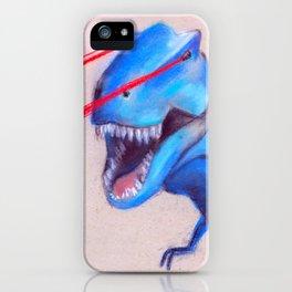 Laser Dino iPhone Case
