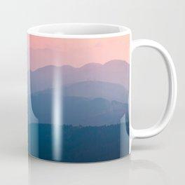 Pink & Blue Mountains Coffee Mug