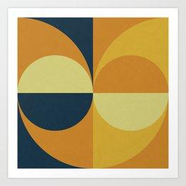 Geometry Games Art Print