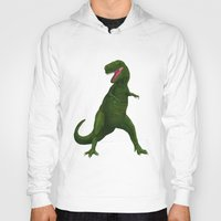t rex Hoodies featuring T Rex by Lydia Meiying