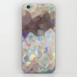 Iridescent Aura Crystals iPhone Skin