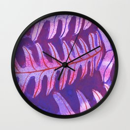 Vicious Vines Wall Clock