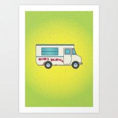 Bob's Burger's Food Truck Art Print