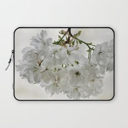 SPRING BLOSSOMS - IN WHITE - IN MEMORY OF MACKENZIE Laptop Sleeve