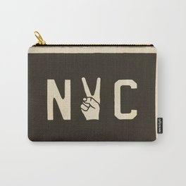 NYC Peace Sign (Color) Carry-All Pouch