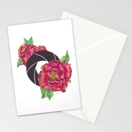 Floral Shutter Stationery Cards