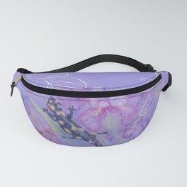 Salamander & Flowers Fanny Pack