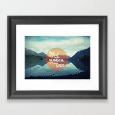 Wander II Framed Art Print