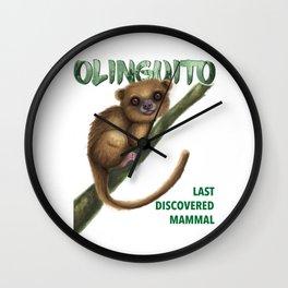 Mammal Wall Clock
