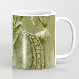 mayan nobleman green Coffee Mug