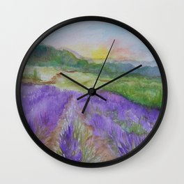 An Evening in Provence WC150601-12 Wall Clock