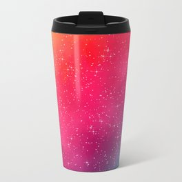 Colorful Galaxy Metal Travel Mug