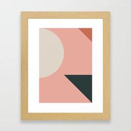 Orbit 05 Modern Geometric Gerahmter Kunstdruck