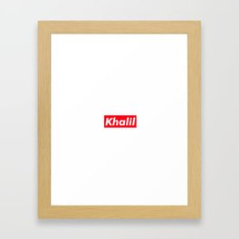Khalil Framed Art Print