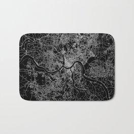 Cincinnati map Bath Mat