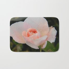 rainy flower Bath Mat