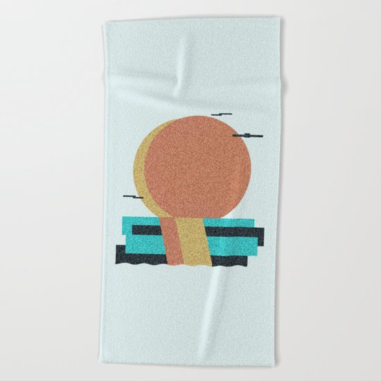 5VN-53T Beach Towel