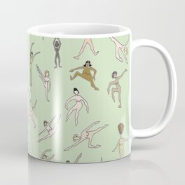 Girls In Color With Boobs Coffee Mug