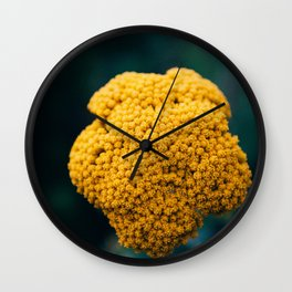 yellow is the new gold Wall Clock