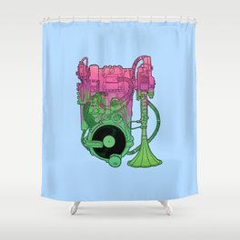 Protophone Shower Curtain