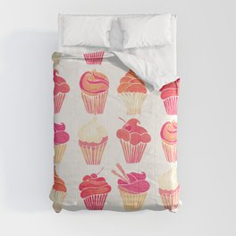Cupcake Collection – Pink & Cream Palette Comforters
