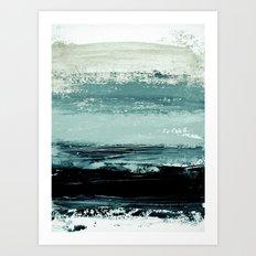 abstract minimalist landscape 4 Art Print
