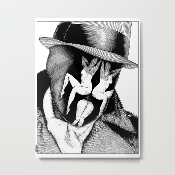 asc 747 - Le Rorschach (You are what you see) Metal Print