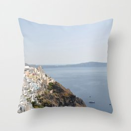 Summer in the riviera IV Throw Pillow