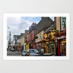 A Little Town in Ireland Art Print