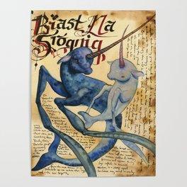 Biast Na Srognig Poster