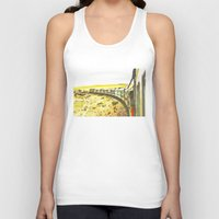 train Tank Tops featuring Train by Mr and Mrs Quirynen