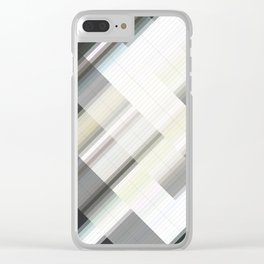 Bright hope. Abstract gradient art geometric background with soft color tone, cell grid. Ideal for a Clear iPhone Case