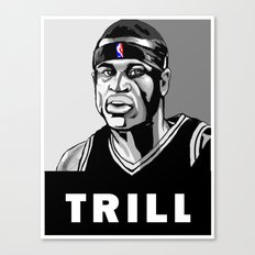 Vote Trill, Stephen Jackson 2016 Canvas Print
