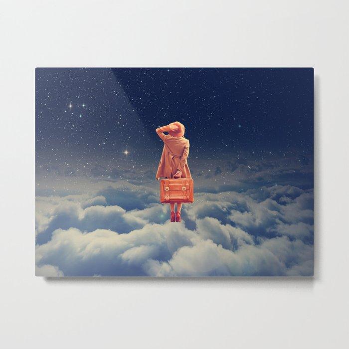 Galactic Traveller Metal Print
