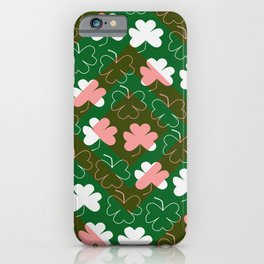 Shamrocks iPhone Case