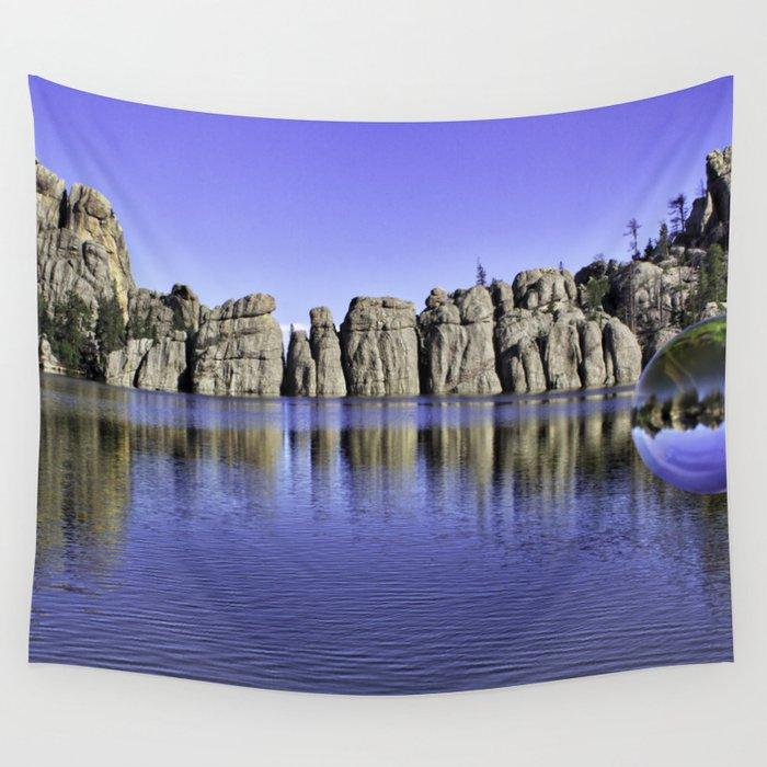 Sylvan Lake Magic Sphere Wall Tapestry