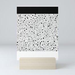 black spots Mini Art Print