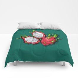 Dragon fruit Comforters