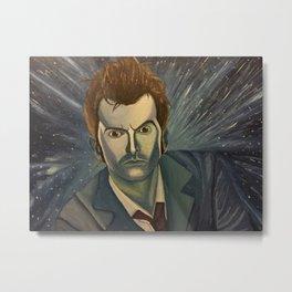 Doctor Who - David Tenant Metal Print