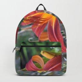 Orange Lily Backpack