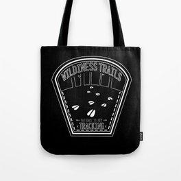 Patience Is Key - Black & White Tote Bag