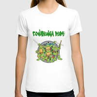 teenage mutant ninja turtles T-shirts featuring Teenage Mutant Ninja Turtles  by CaitlinNicole