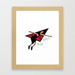 CLYDE DREXLER Framed Art Print