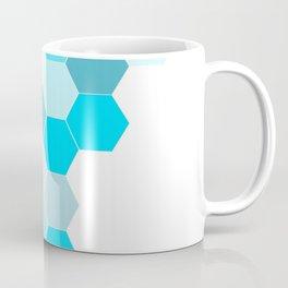 Honeycomb - Turq Coffee Mug