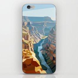 Geometric Grand Canyon National Park, USA iPhone Skin
