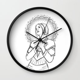 Sister Nightengale Wall Clock