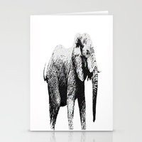 african Stationery Cards featuring African Elephant by T.E.Perry