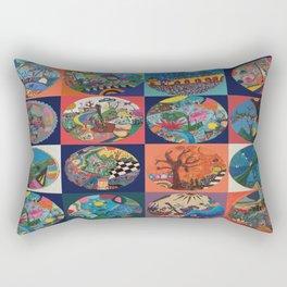 Bolitas de colores Rectangular Pillow
